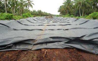 9 Langkah Pemasangan Geotextile dan Penghamparan Timbunan
