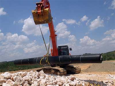 HDPE Geomembrane Pengganti Konstruksi Beton pada Kolam Limbah