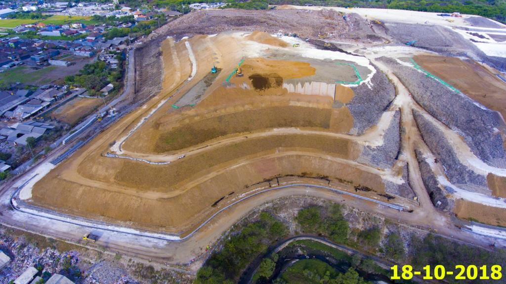 Dokumentasi Proyek Landfill Capping, Sarbagita – Bali